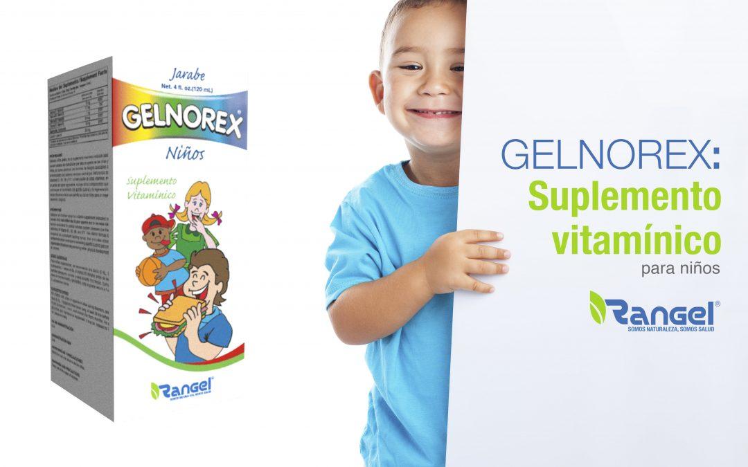 Suplemento Gelnorex, Vitaminas para niño | Falta de Apetito niños