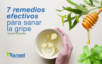 7 Remedios Efectivos Para Sanar La Gripe (Jarabes Naturales)