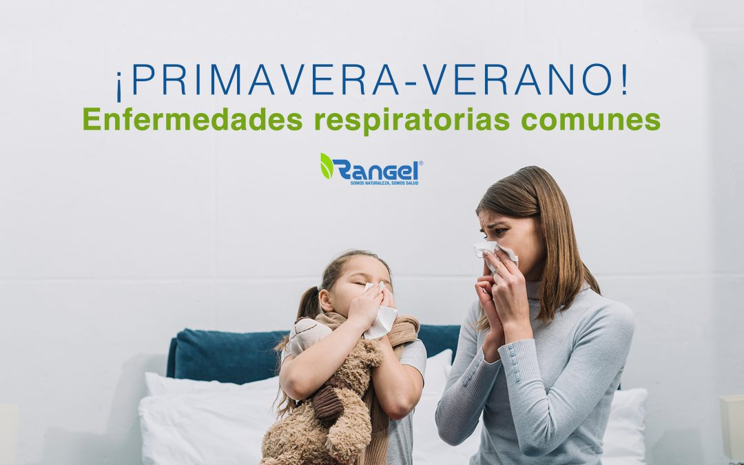 Primavera-Verano: Enfermedades Respiratorias Comunes