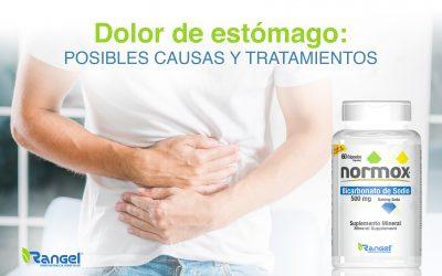 Dolor de estómago posibles causas y tratamientos