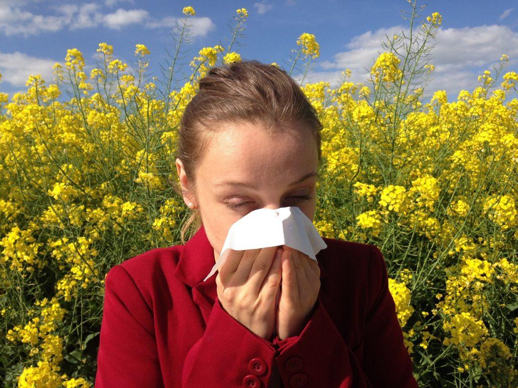Primavera alergia al polen